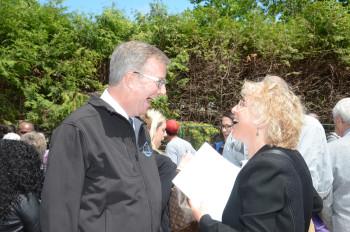 Roslyn and Ottawa Mayor Watson